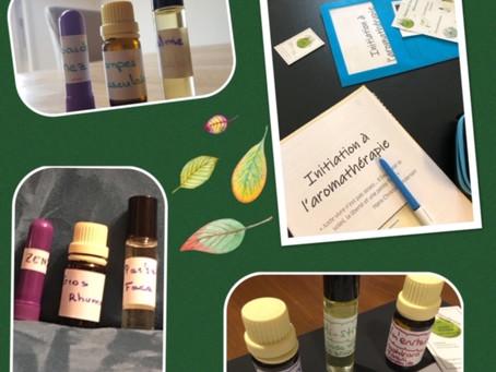 Soirée d'initiation à l'Aromathérapie