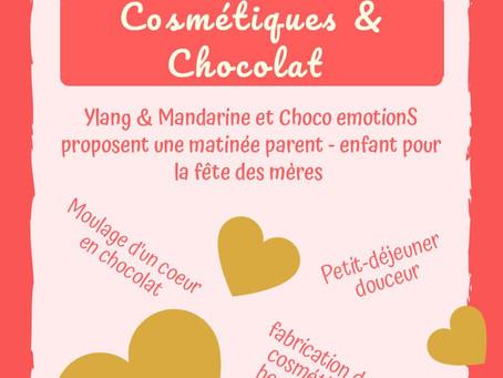 Cosmétiques et Chocolat