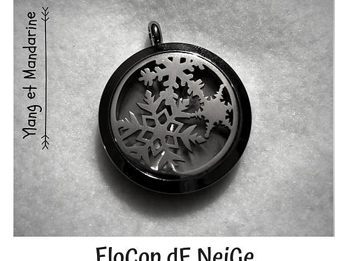 Pendentif Le FloCon de NeiGe
