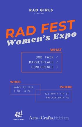 RAD FEST Women's Expo