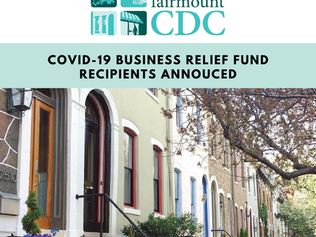 Round 4 COVID-19 Business Relief Fund Recipients Announced