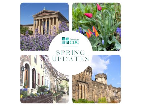 Spring Updates from Fairmount CDC