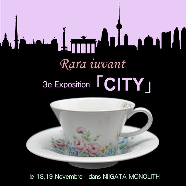 3e Exposition 「CITY」