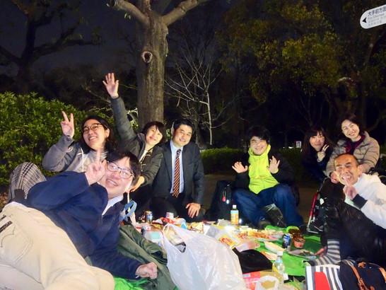 🌸大阪城公園で車椅子お花見会2019🌸