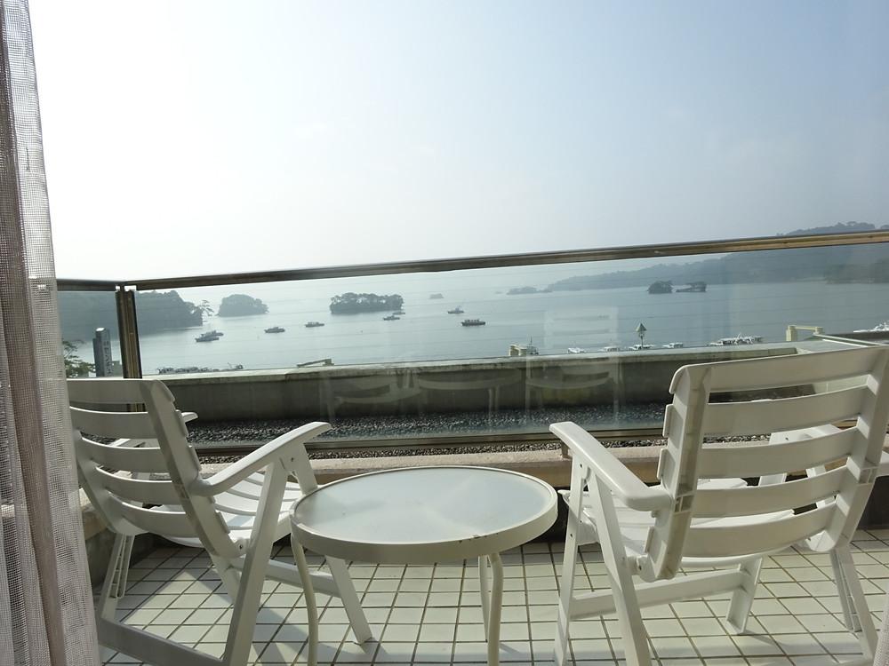 松島センチュリーホテル眺め