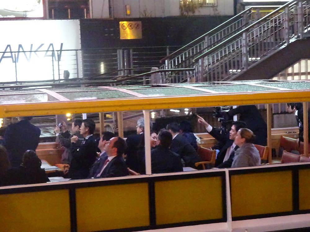 BIE調査団と大阪市長や府知事の皆様