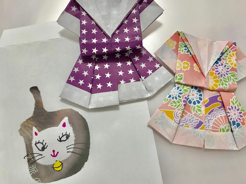 折り紙と切り絵