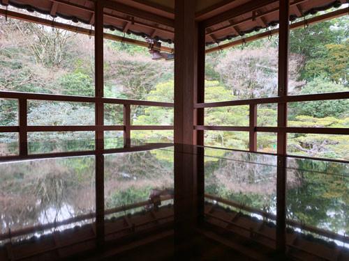 【新年車椅子で滋賀旅-その2-旧竹林院庭園】