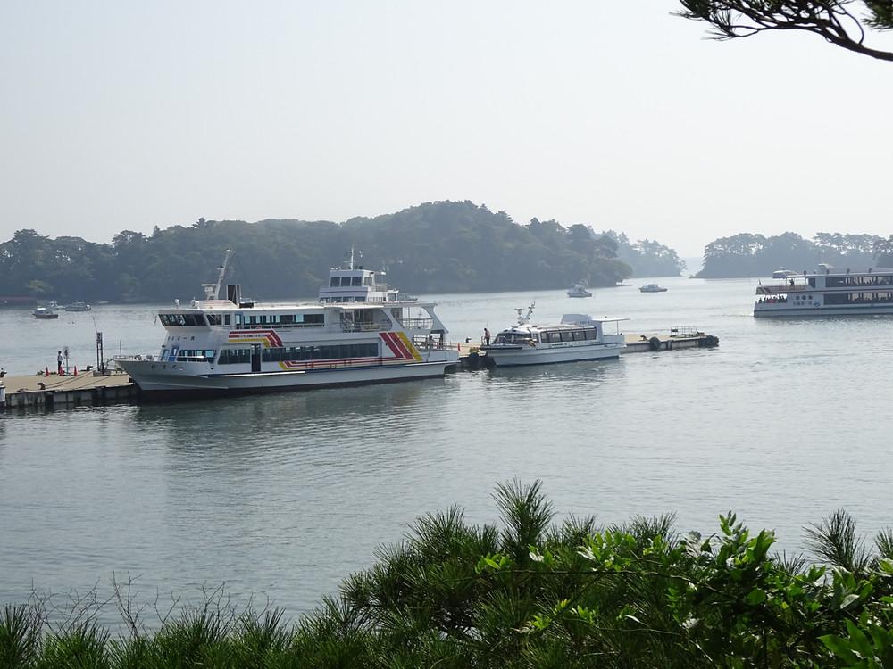 松島湾内遊覧船