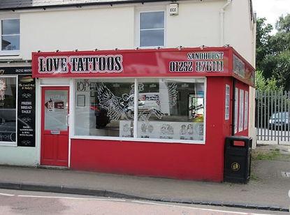 Love Tattoos Studio Sandhurst