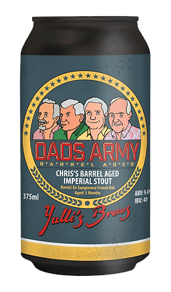 Dads Army Whiskey Barrel Aged Imperial Stout 9.4% - 16 PACK