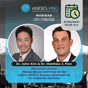Cursos marzo AndesHSG_Dr. John Kim & Dr.