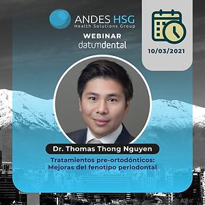 Cursos marzo AndesHSG_Dr. Thomas Thong N