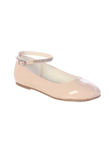 Blush Patent Girls Shoes