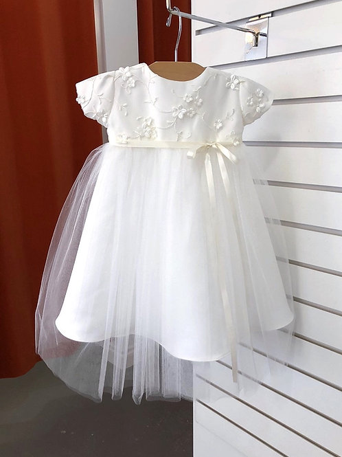 Silk Flower Gown