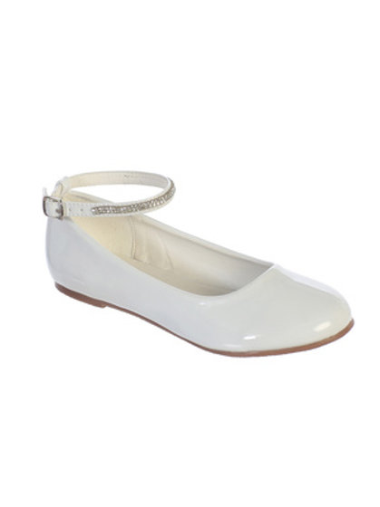 Ivory Patent Shoes