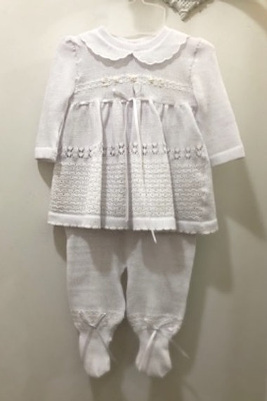 Baby knit set for girl