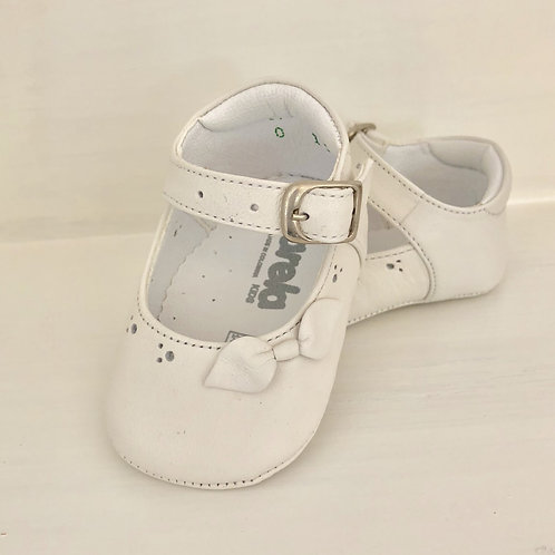 Leather Infant Girls Shoes