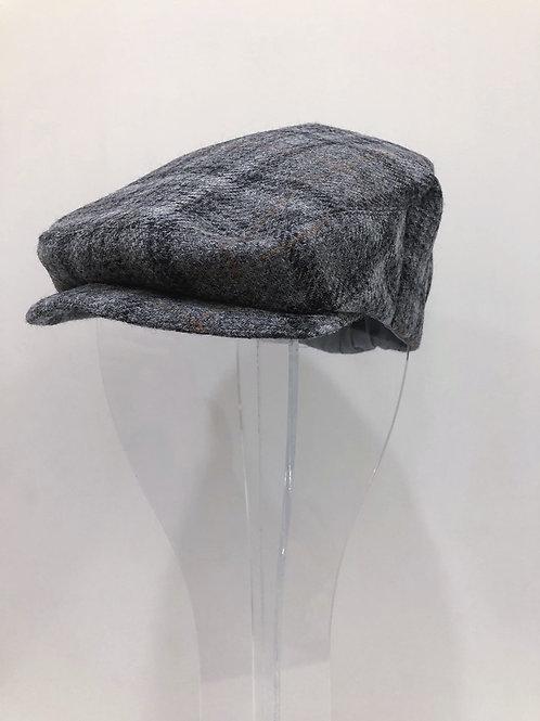 Tweed Newsboy Hat