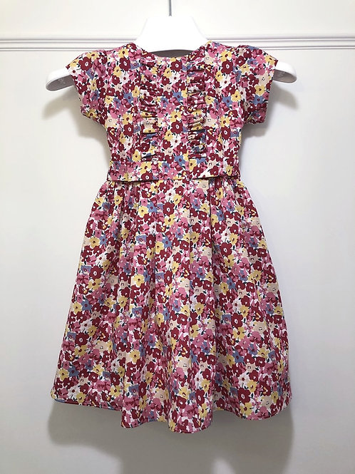 Strawberry Fields Cotton Dress