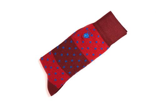 Paradiesvogel (Rot/ Blau)