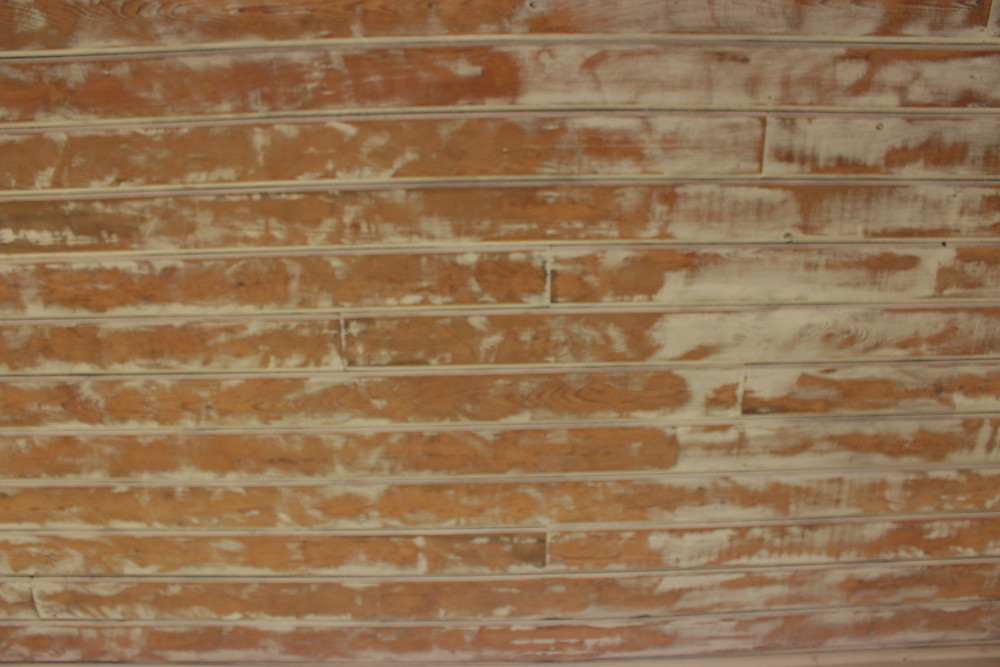 Sanded Porch Ceiling