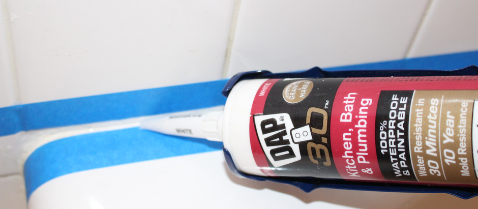 How to: Re-caulk a Shower or Tub; The Joy of a Clean Bathroom