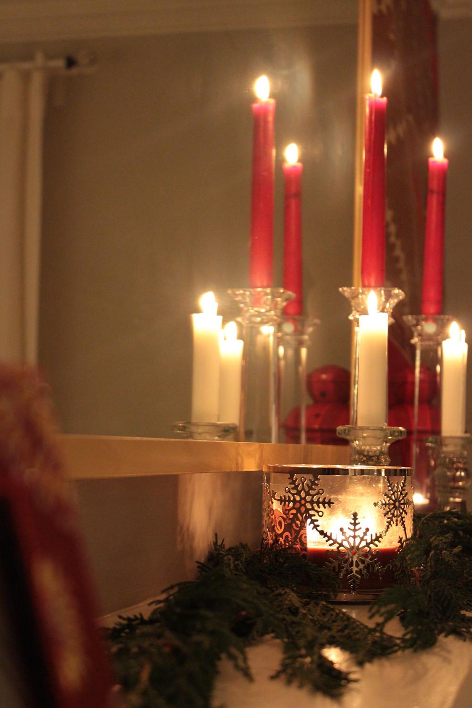 Christmas Mantle Glow