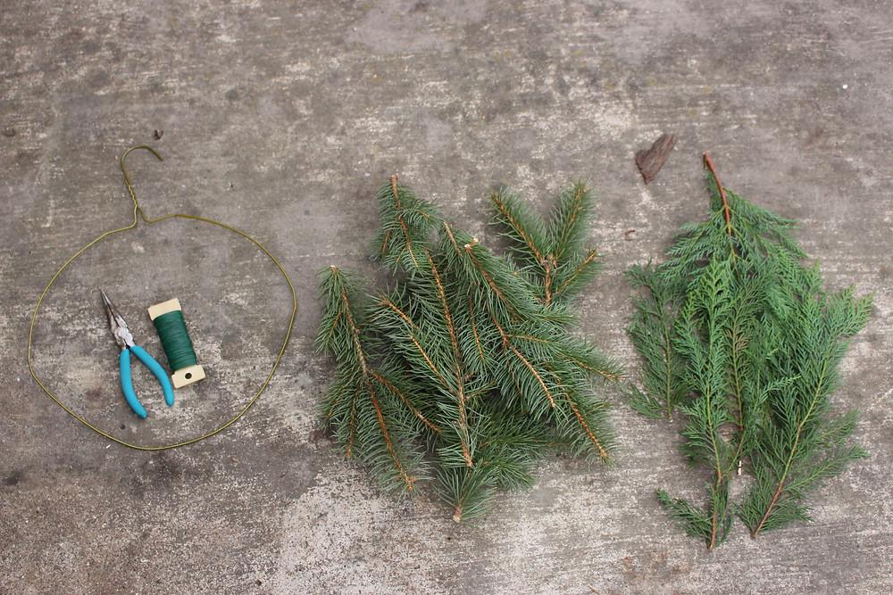 Homemade Wreath Supplies