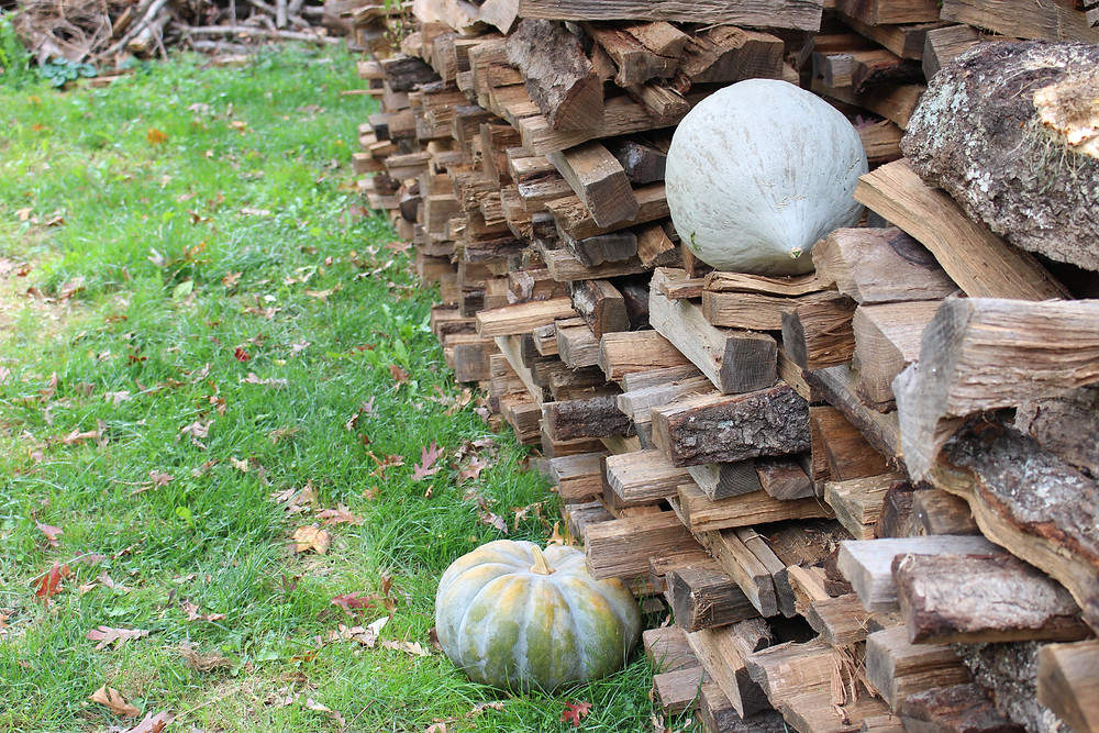 Woodpiles and Pumpkins