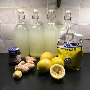 Super Simple Ginger Ale