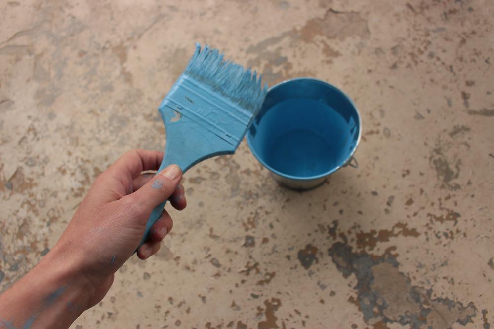Poured Paint