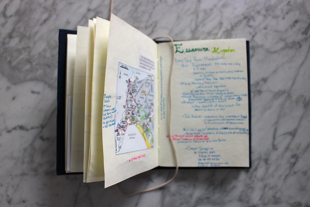Homemade Travel Guide Content