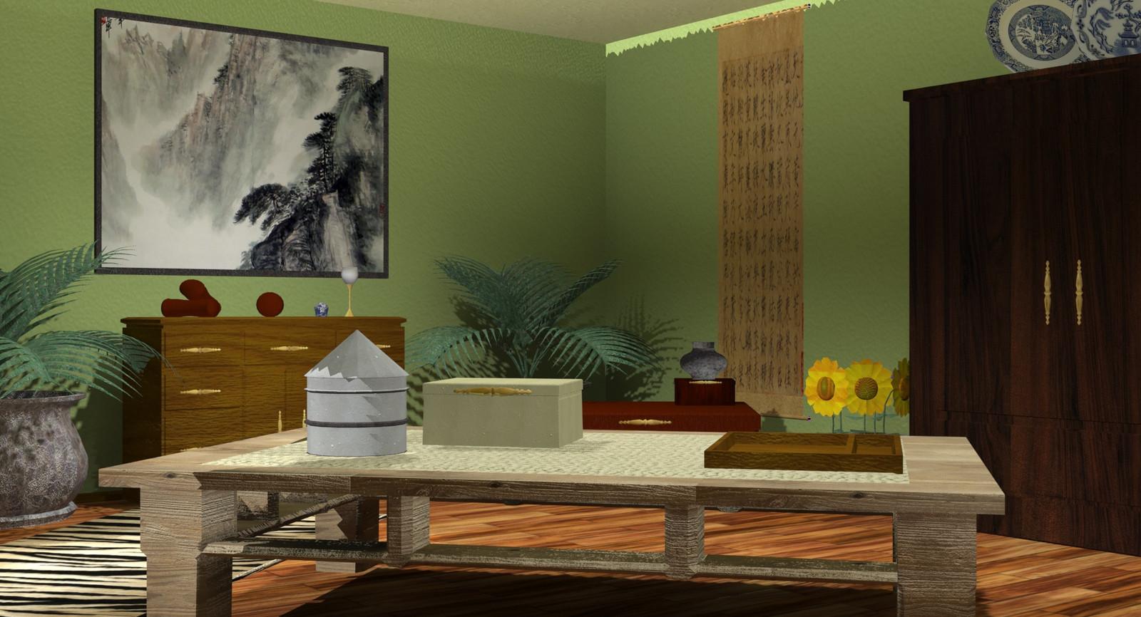 Asian Inspired Living Room asian inspired living room design