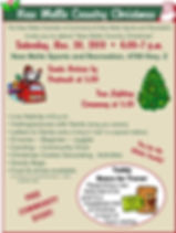 New Melle Country Christmas Flyer2019 we