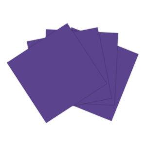 Servilleta violeta
