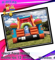 inflable rodadero fiesta