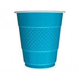 Vaso x10 azul caribe