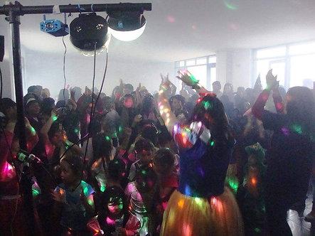 Show Pequeña disco