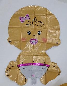 Globo Metalizado Baby Shower