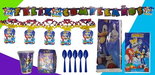 Set Decoración Sonic
