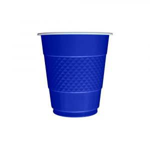 Vaso x10 azul rey