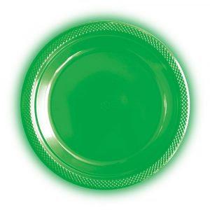 Plato 9° verde