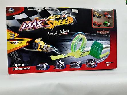 Moto Max speed