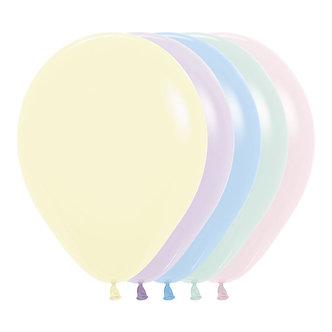 Globo x12 pastel