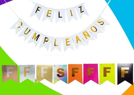 Girnalda Feliz Cumpleaños
