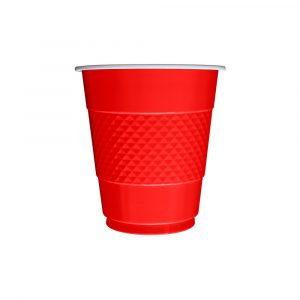 Vaso x10 rojo