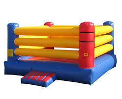 rin de boxeo inflable