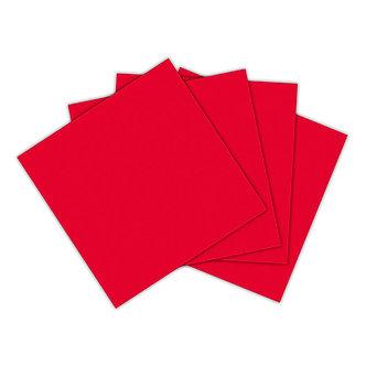 Servilleta roja