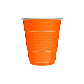 Vaso x10 naranja